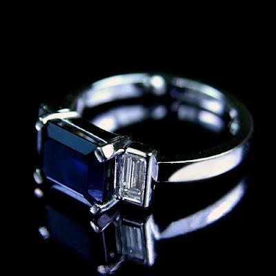 Bridal Buzz: Sapphire engagement ring