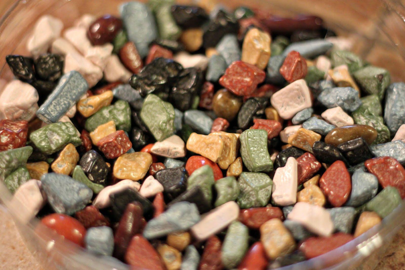 The Good Life: Cream Puffs and Chocolate Rocks