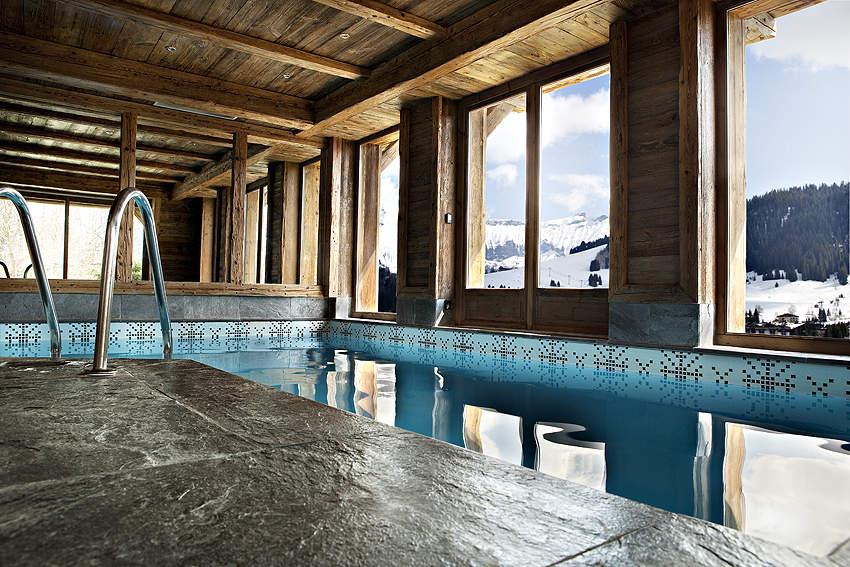 Concept interiors chalet pashmina meg ve i de franske alper - Chalet de luxe megeve ...