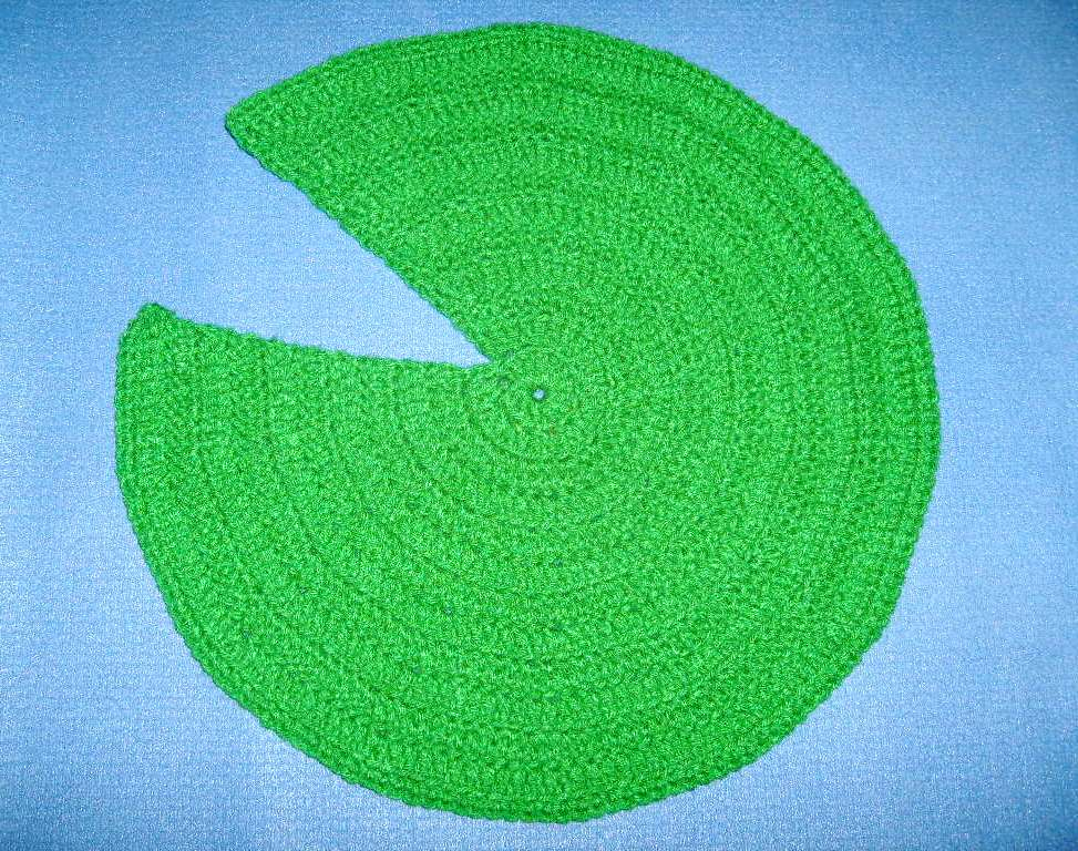 Green Broke Living In Kits Lily Pad Easy Crochet Pattern