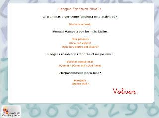Ir a: 8-10 años Lengua Escritura