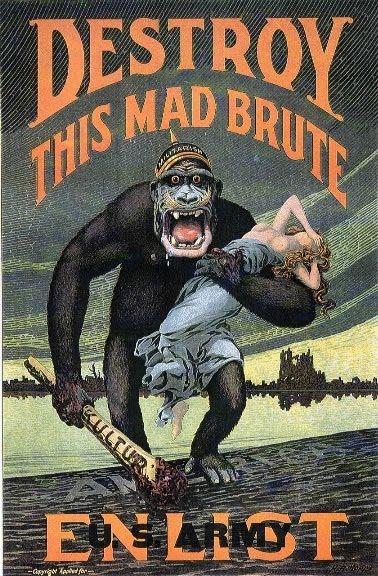 War 1 recruitment posters