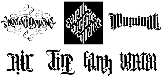 ambigrams tattoos. Ambigrams