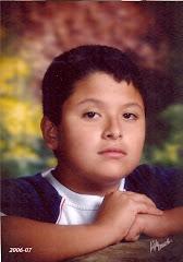 """""""Mi sobrino Randall Grisales Galeano"""". La inociencia de su expresión lo dice todo."""