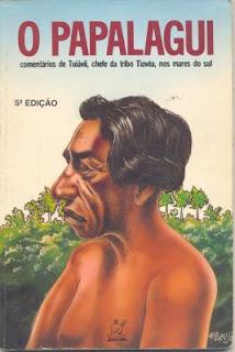 Capa do livro O papalagui aqui no good news, de Isabella Lychowski