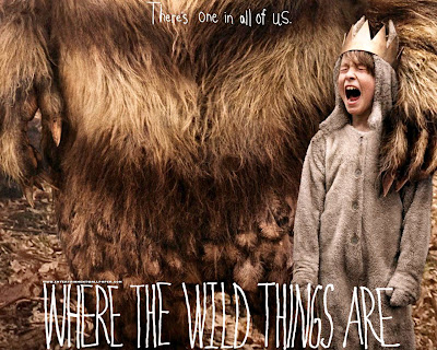 Where the wild things are, poster