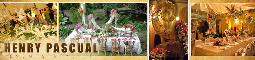 Henry Pascual - Philippine Wedding and Event Stylist