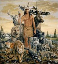 Um Xamã e os Animais de poder...