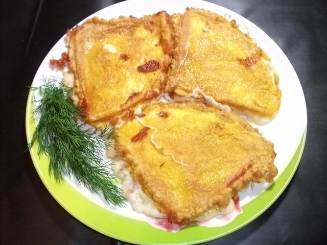 сыр-косичка жареный рецепт с фото