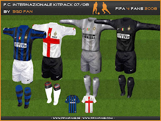 Fans Club Kostum Inter Milan