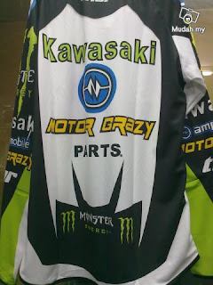 jersey motocross kawasaki monster energy..