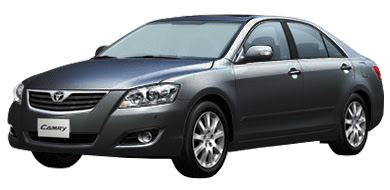 Toyota All New Camry - Black Mica