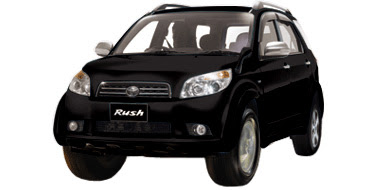 Warna Toyota Rush - Black Mica Metallic