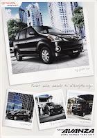 Brosur Toyota Avanza 2010