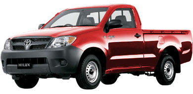 Pilihan Warna Toyota New Hilux - Super Red