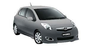 Pilihan Warna Toyota New Yaris 2010