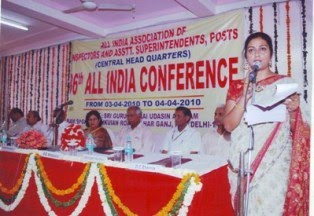 A snapshot from AI Conference 2010, New Delhi