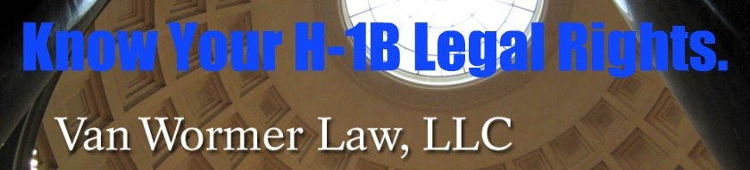 Legal Rights for H-1B Visa Holders