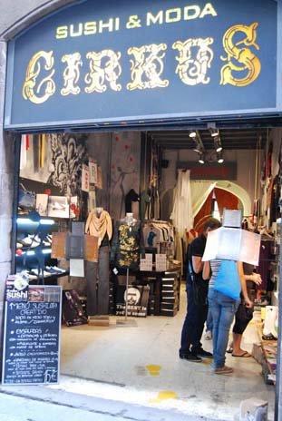Cirkus, vinyó, Barcelona, novembre 2008