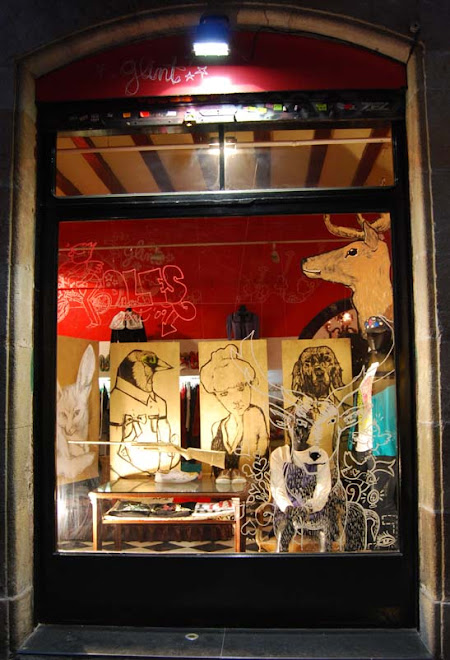 Glint, banys nous, Barcelona, gener 2009