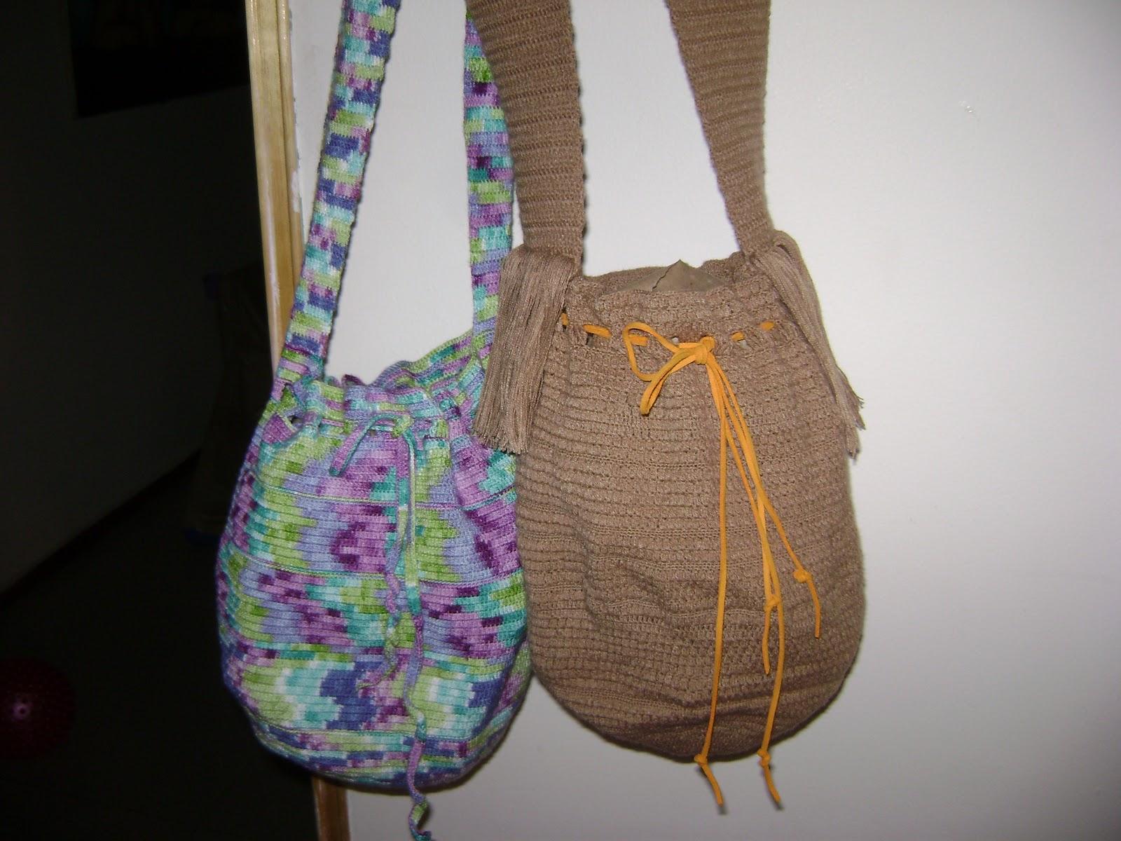 Como hacer un bolso tejido a mano imagui - Como hacer bolsos tejidos ...