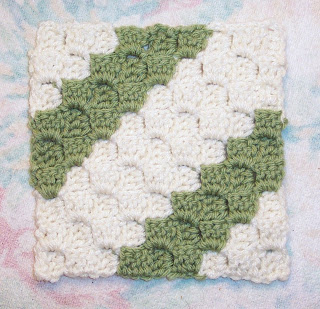Diagonal Crochet Pattern - Online Crochet Instruction