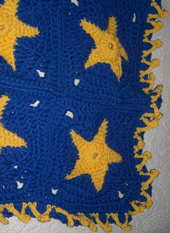 Smoothfox Crochet And Knit Kays Star Blanket For Project Linus