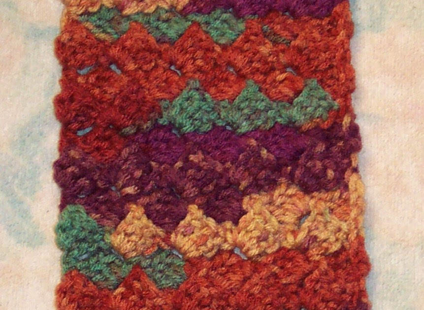 Smoothfox Crochet And Knit Smoothfoxs Crazy Box Stitch Scarf