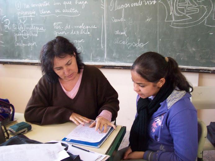 Projeto Ponto de Vista ( Escola Márcia Helena, em 2010 ).