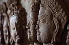I meravigliosi bassorilievi Khmer