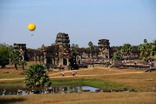 In mongolfiera su Angkor?
