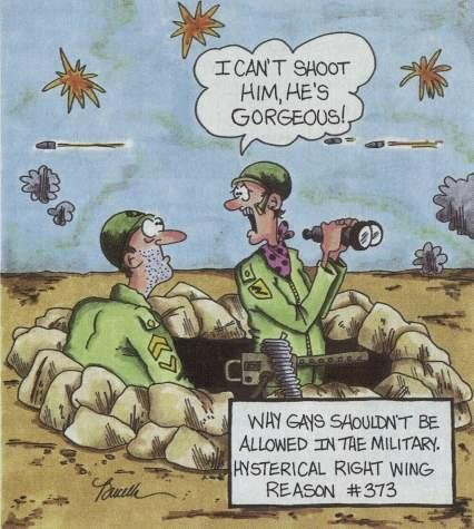 funny army pictures. Gays in the Military