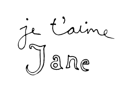 je t&#39;aime jane