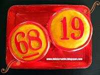 Torta Numeri tombola