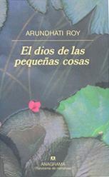 Libro El Dios de  las pequeñas cosas