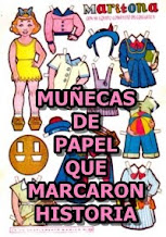 MUÑECAS DE RECORTABLES QUE MARCARON HISTORIA