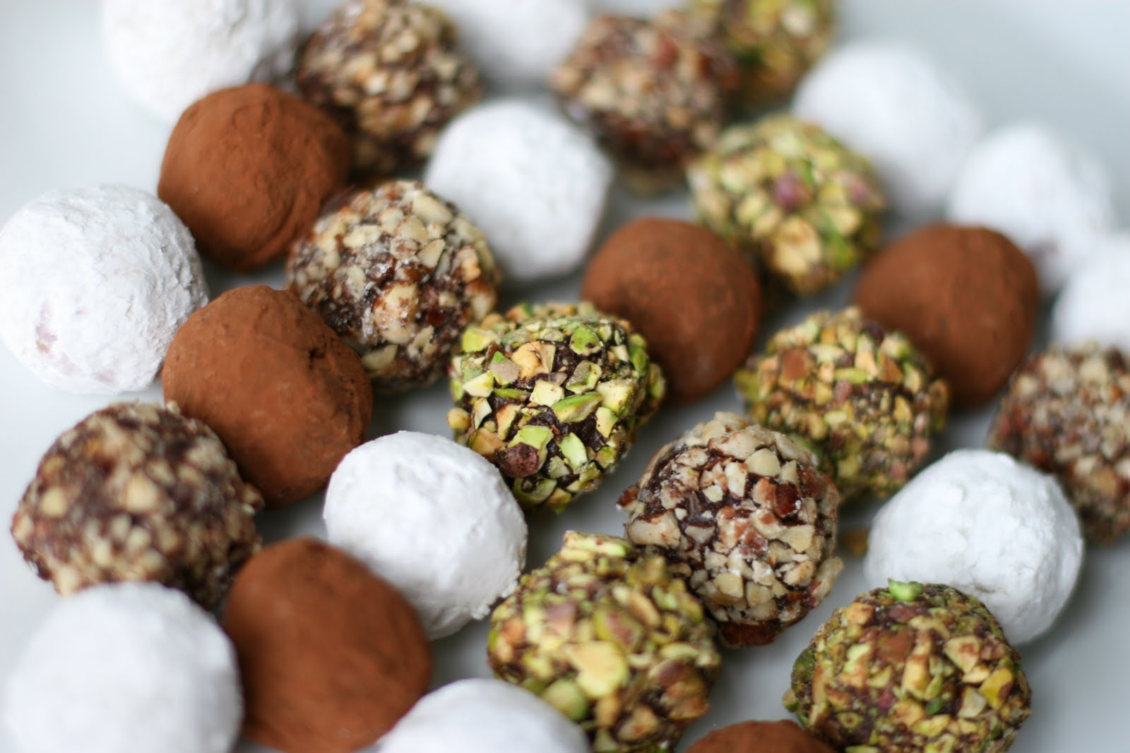 A recipe for aperture assorted chocolate truffles for White chocolate truffles recipe uk