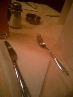 Il faut savoir quitter la table, lorsque l'amour est desservi...