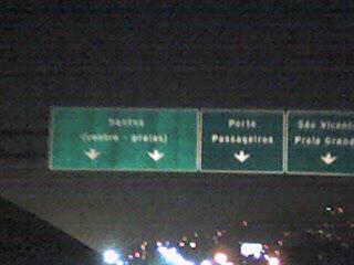 Entrada de Santos, Rodovia SP-150