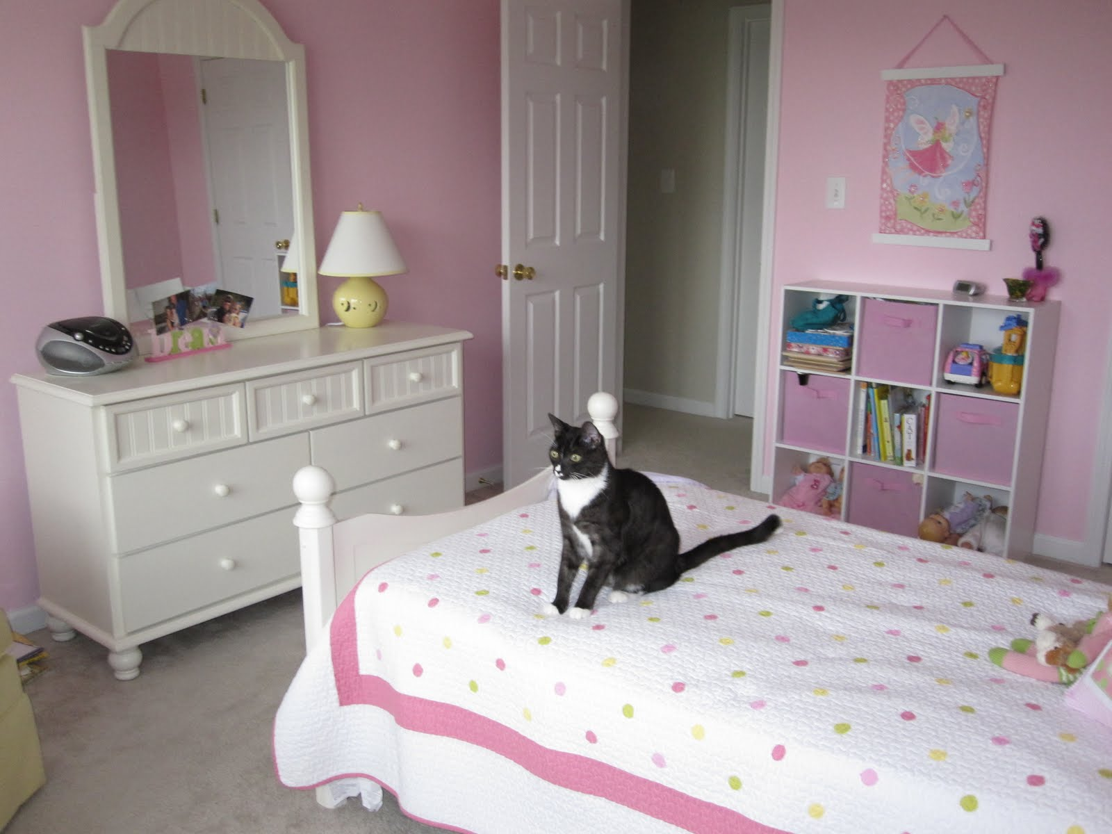 Life wrapped in pink big girl room for Cool bedroom ideas for 10 year olds