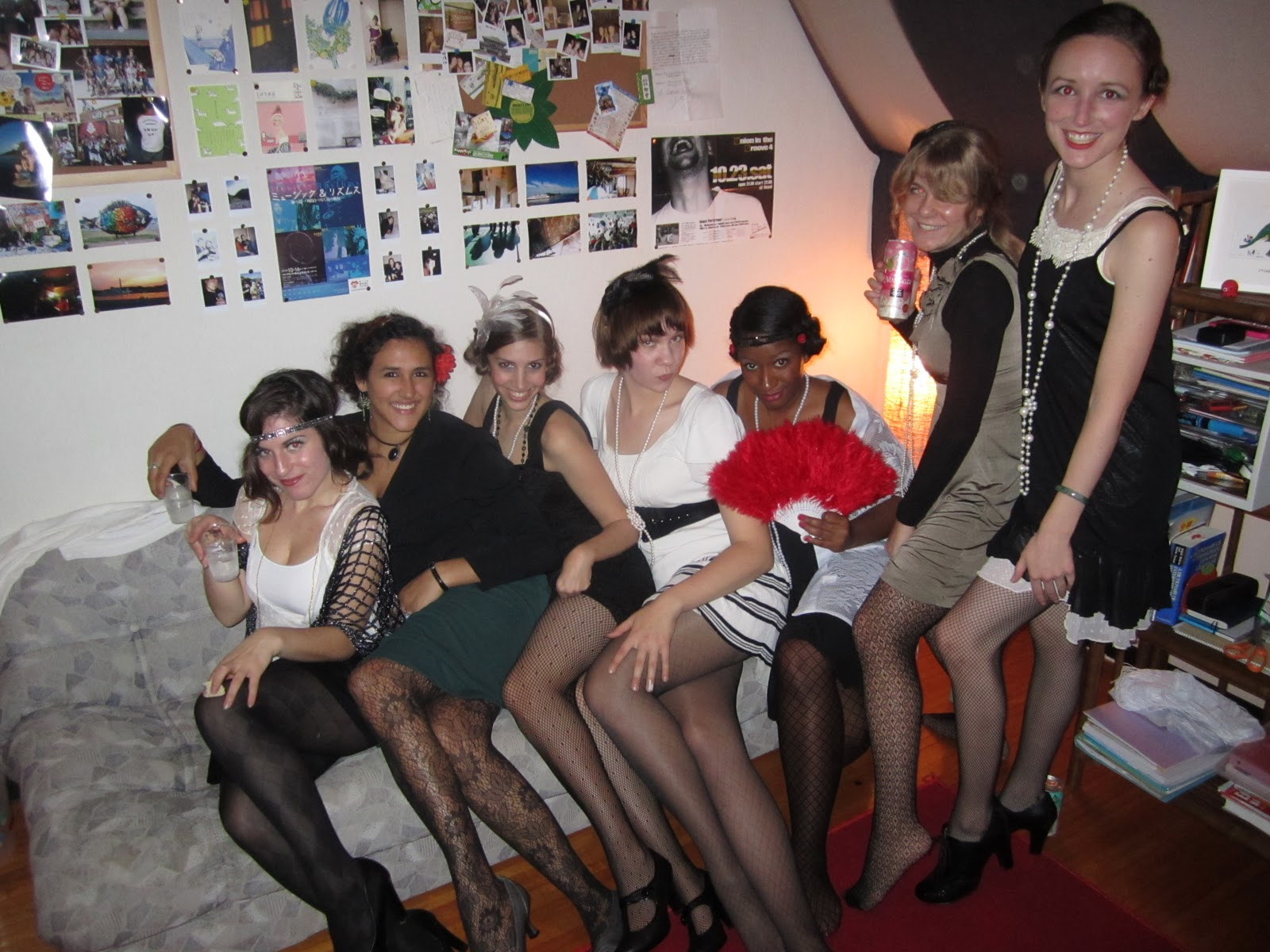 Looks ladies in stocking COK IYI