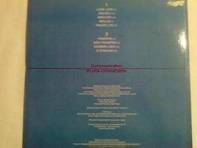 Cover Album of Pluta Connexion - Communication  LP Rocktopus [204 676]  (1982)