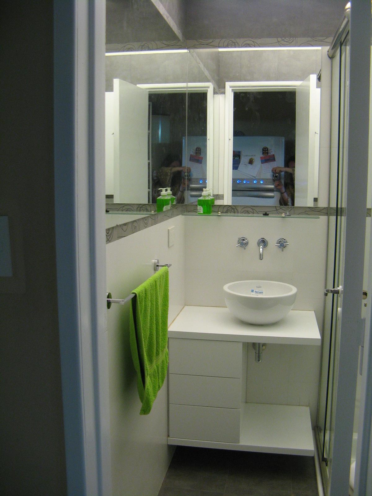 Iluminacion Baño Easy:El detalle: generalmente nos encontramos con baños pequeños y en