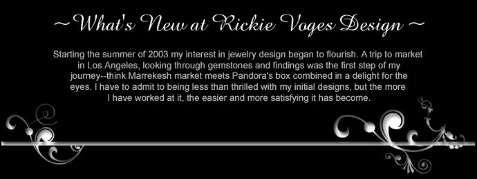 What's New at Rickie Voges Designs