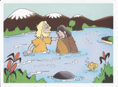 tia paula jesus é batizado por joão batista