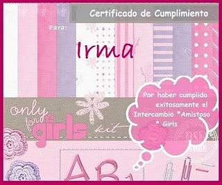 CERTIFICADO DEL INTER-GIRL