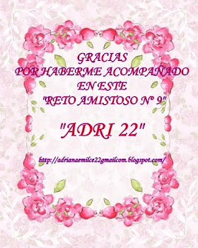 MIMO DE AGRADECIEMIENTO DEL RETO AMISTOSO Nº 9