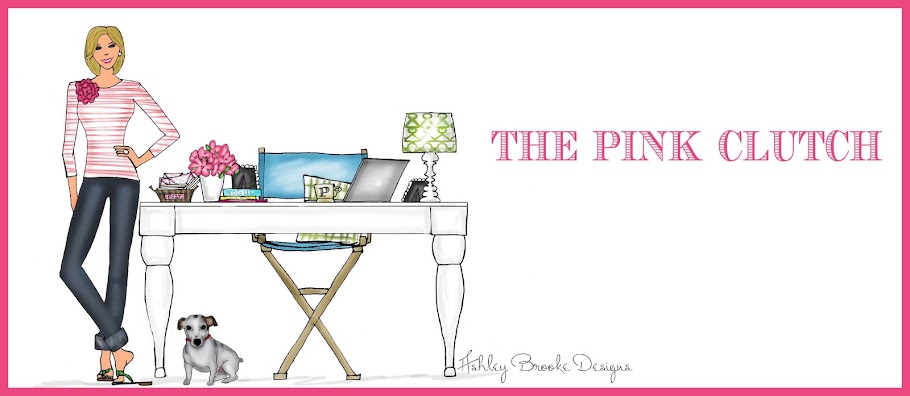 the pink clutch ...