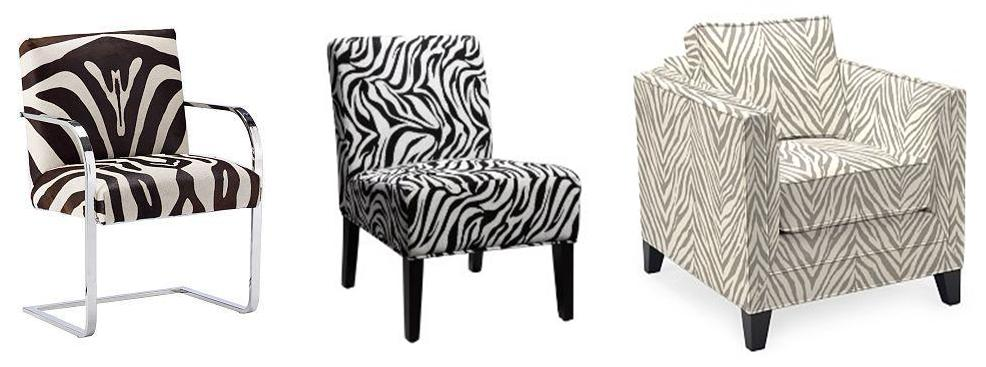 DG Style: Reader Question: Zebra Chairs in the Living Room