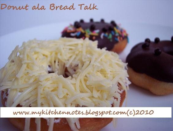 Donat ala Bread Talk